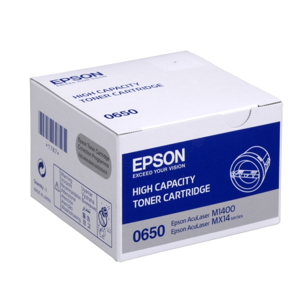 Original Epson C13S050650 / 0650 Toner schwarz