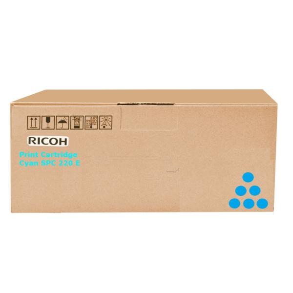 Original Ricoh 406097 / TYPESPC220E Toner cyan