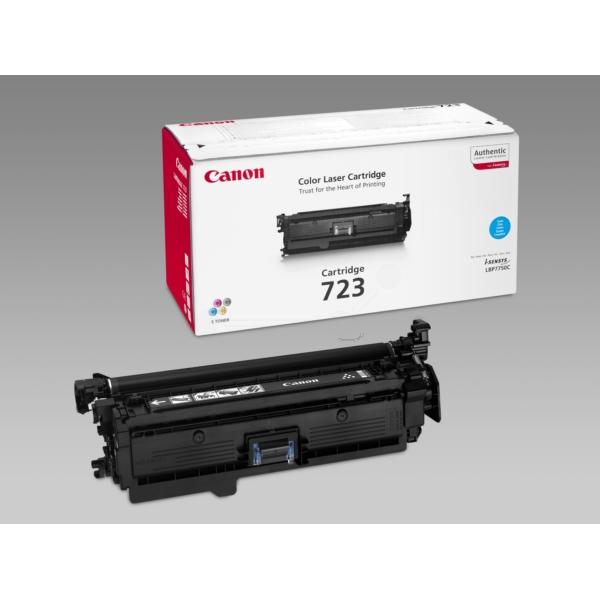 Original Canon 2643B002 / 723C Toner cyan