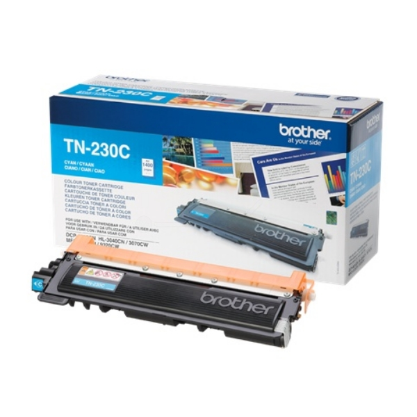 Original Brother TN230C Toner cyan