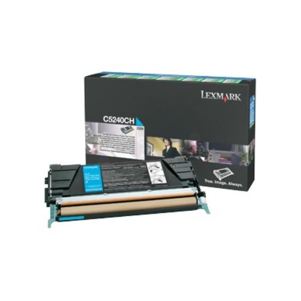 Original Lexmark C5242CH Toner cyan