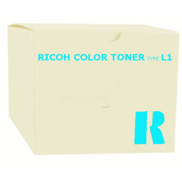 Original Ricoh 887908 / TYPEL1 Toner cyan