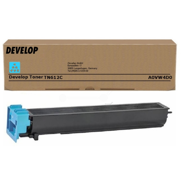 Original Develop A0VW4D0 / TN612C Toner cyan