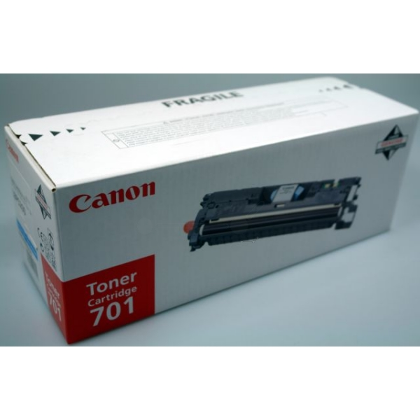 Original Canon 9286A003 / 701C Toner cyan