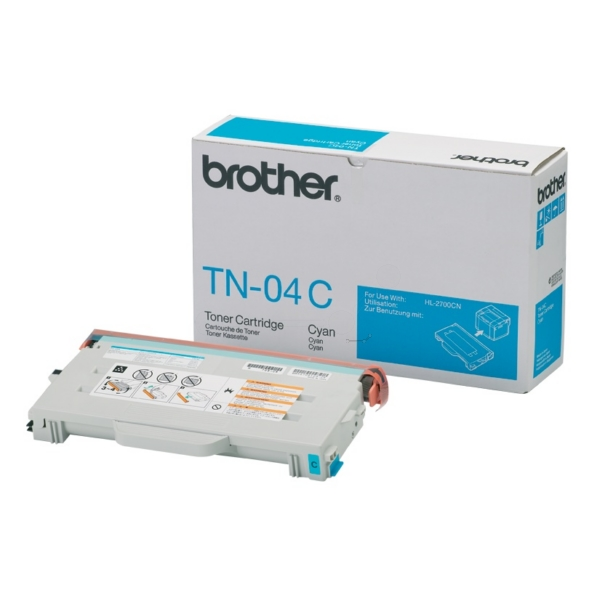 Original Brother TN04C Toner cyan