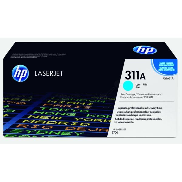 Original HP Q2681A / 311A Toner cyan