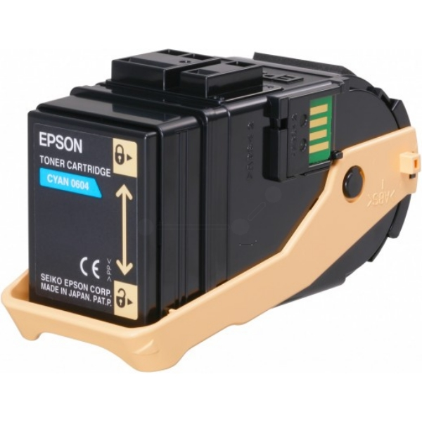 Original Epson C13S050604 / 0604 Toner cyan