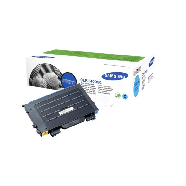 Original Samsung CLP510D5CELS Toner cyan