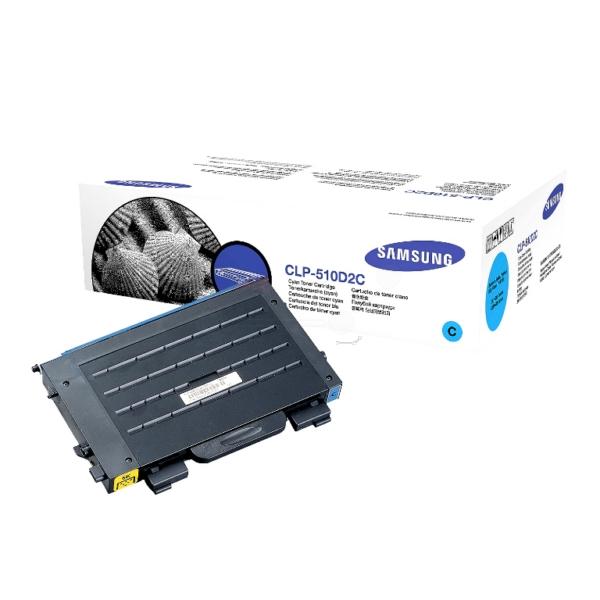 Original Samsung CLP510D2CELS Toner cyan