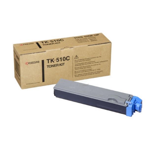 Original Kyocera 1T02F3CEU0 / TK510C Toner cyan