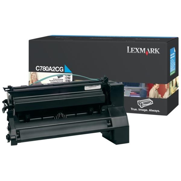 Original Lexmark C780A2CG Toner cyan