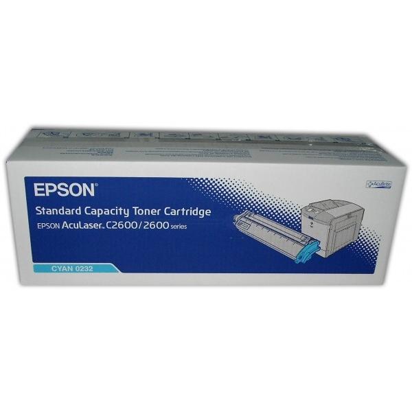 Original Epson C13S050232 / 0232 Toner cyan