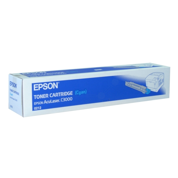 Original Epson C13S050212 / 0212 Toner cyan