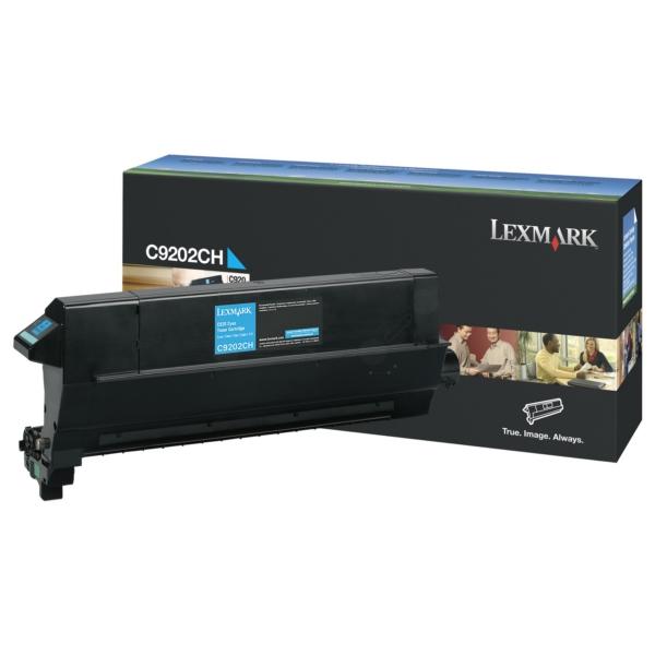 Original Lexmark C9202CH Toner cyan
