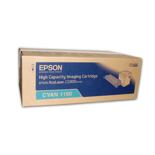 Original Epson C13S051160 / 1160 Toner cyan