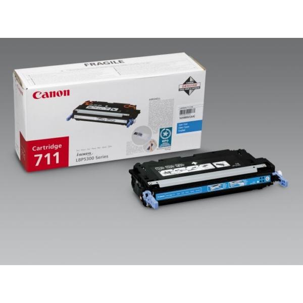 Original Canon 1659B002 / 711C Toner cyan