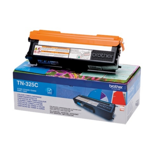 Original Brother TN325C Toner cyan