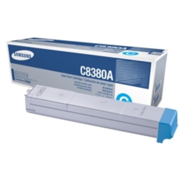 Original Samsung CLXC8380AELS / C8380A Toner cyan