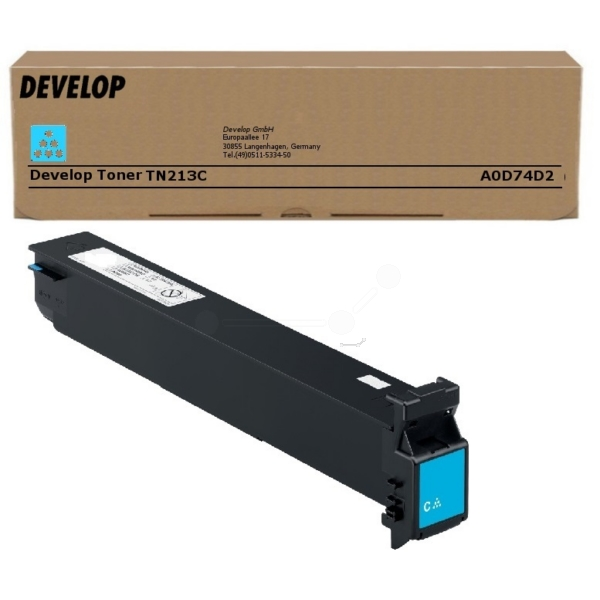 Original Develop A0D74D2 / TN213C Toner cyan
