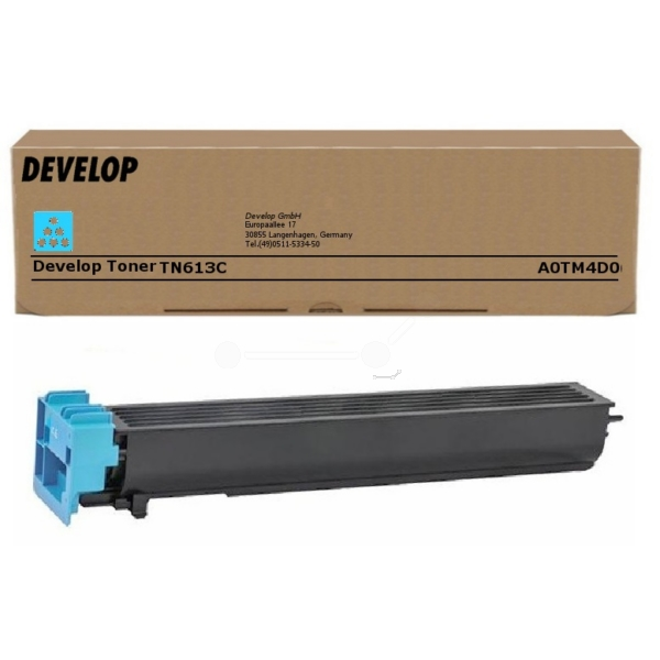 Original Develop A0TM4D0 / TN613C Toner cyan