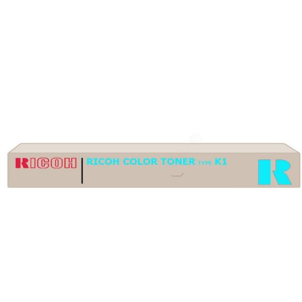Original Ricoh 887933 / TYPEK1 Toner cyan