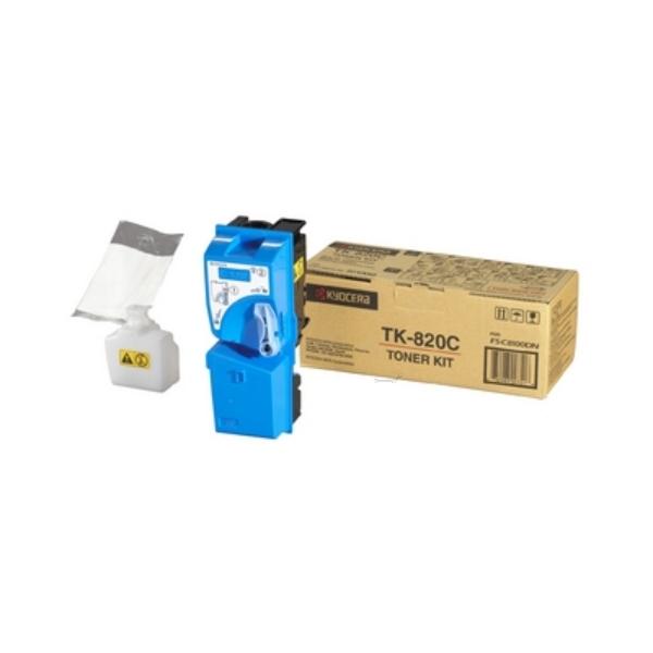 Original Kyocera 1T02HPCEU0 / TK820C Toner cyan