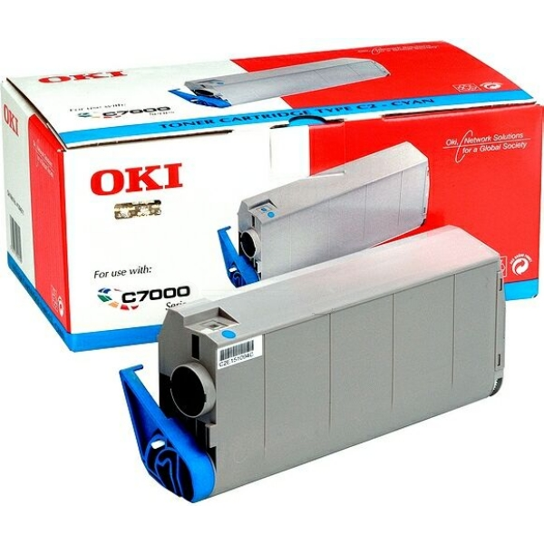 Original OKI 41963007 Toner cyan