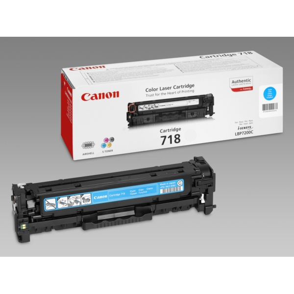 Originale Canon 2661B002 / 718C Toner ciano