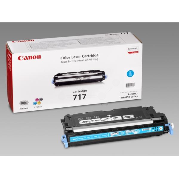 Original Canon 2577B002 / 717C Toner cyan