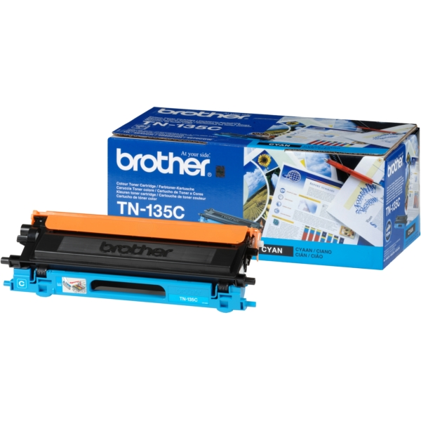 Original Brother TN135C Toner cyan