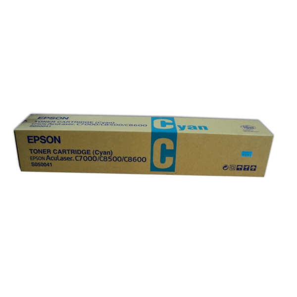 Original Epson C13S050041 / S050041 Toner cyan