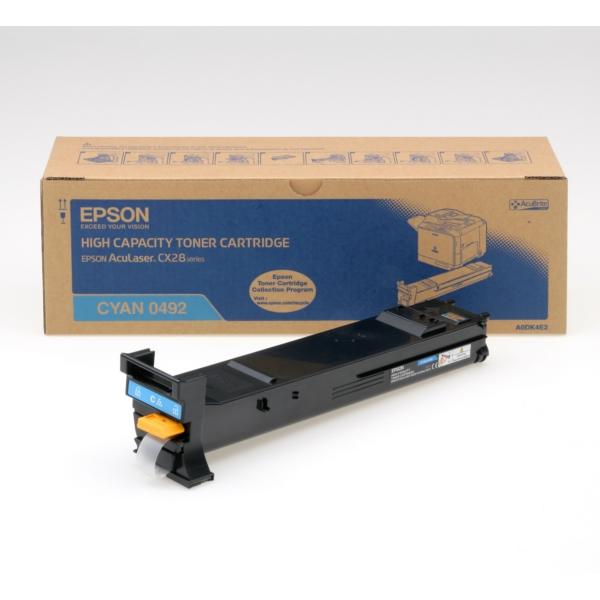 Original Epson C13S050492 / 0492 Toner cyan