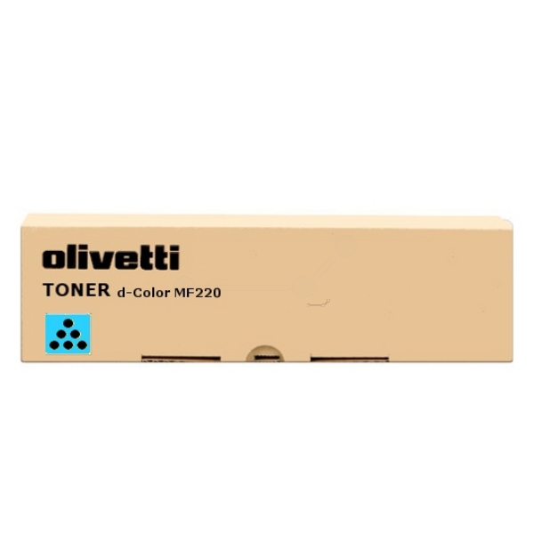 Original Olivetti B0857 Toner cyan