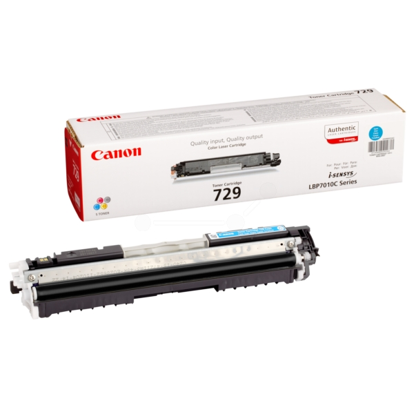Original Canon 4369B002 / 729C Toner cyan