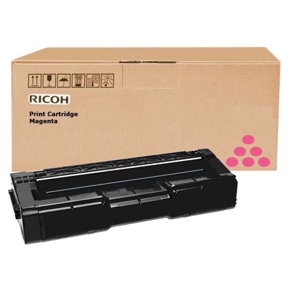 Original Ricoh 406350 / TYPESPC310HE Toner magenta
