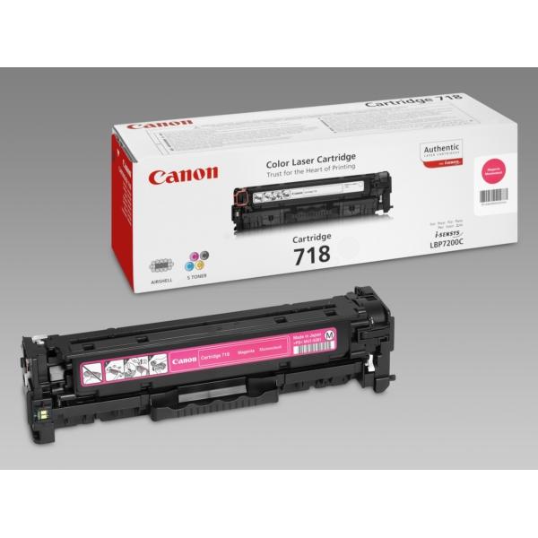 Original Canon 2660B002 / 718M Toner magenta