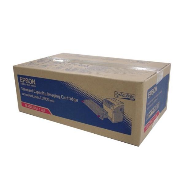 Original Epson C13S051129 / 1129 Toner magenta