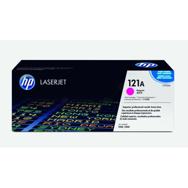 Original HP C9703A / 121A Toner magenta
