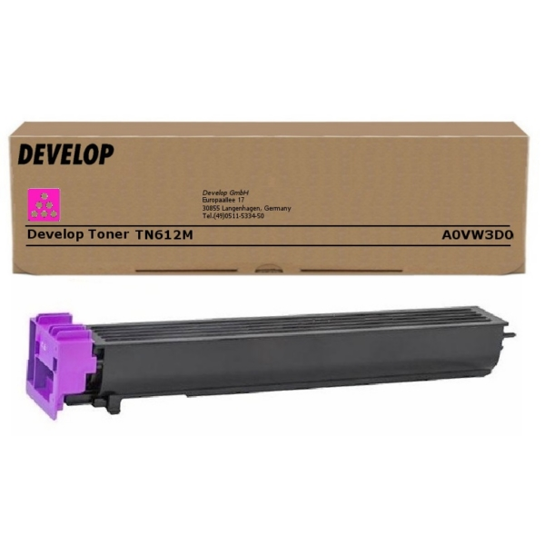 Original Develop A0VW3D0 / TN612M Toner magenta