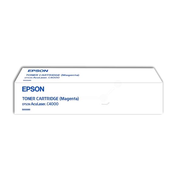Original Epson C13S050089 / S050089 Toner magenta