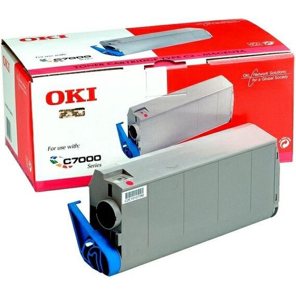 Original OKI 41963006 Toner magenta