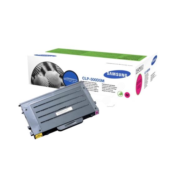 Original Samsung CLP500D5MELS Toner magenta