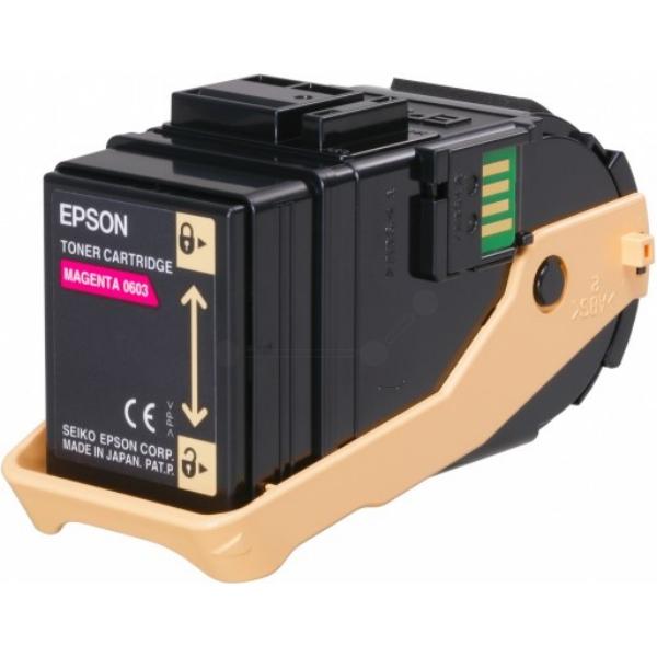 Original Epson C13S050603 / 0603 Toner magenta
