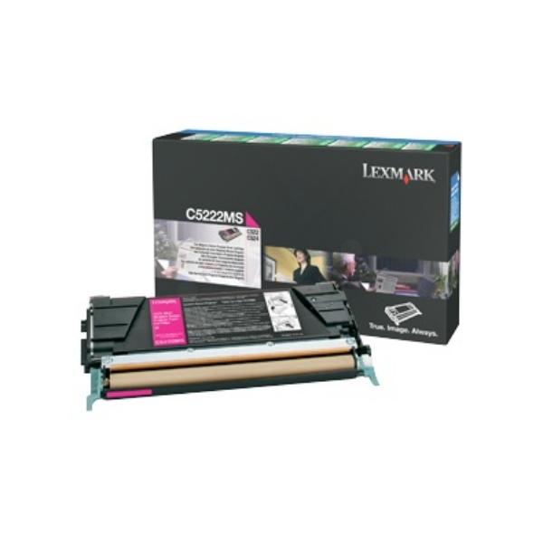 Original Lexmark C5222MS Toner magenta