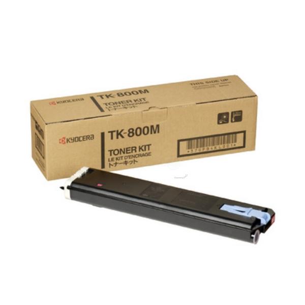Original Kyocera 370PB4KL / TK800M Toner magenta