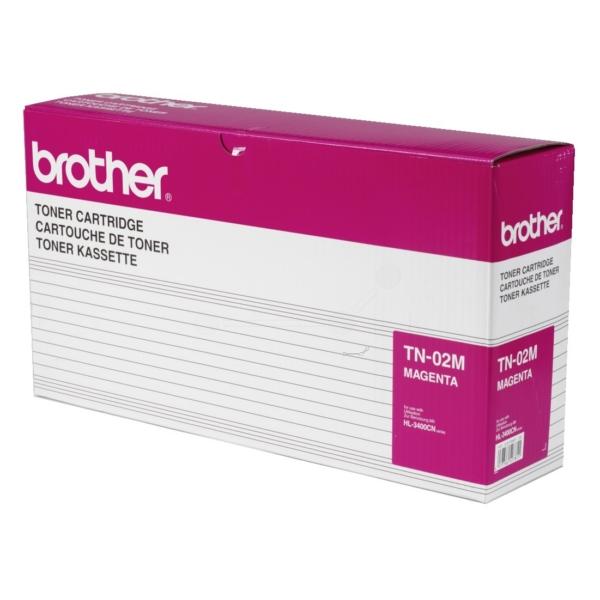 Original Brother TN02M Toner magenta