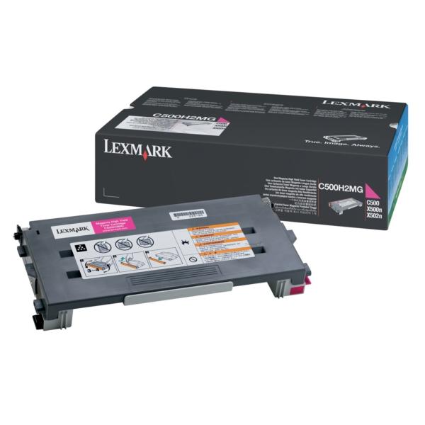 Original Lexmark C500H2MG Toner magenta