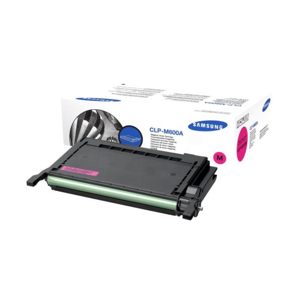 Original Samsung CLPM600AELS Toner magenta