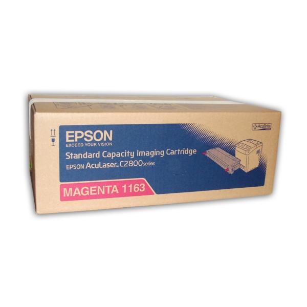 Original Epson C13S051163 / 1163 Toner magenta