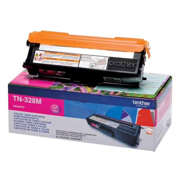 Original Brother TN328M Toner magenta